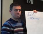 Oleg Griszyn z KWU Donieck tłumaczy dzienniakrzom, dlaczego ważny jest monitoring wybrów